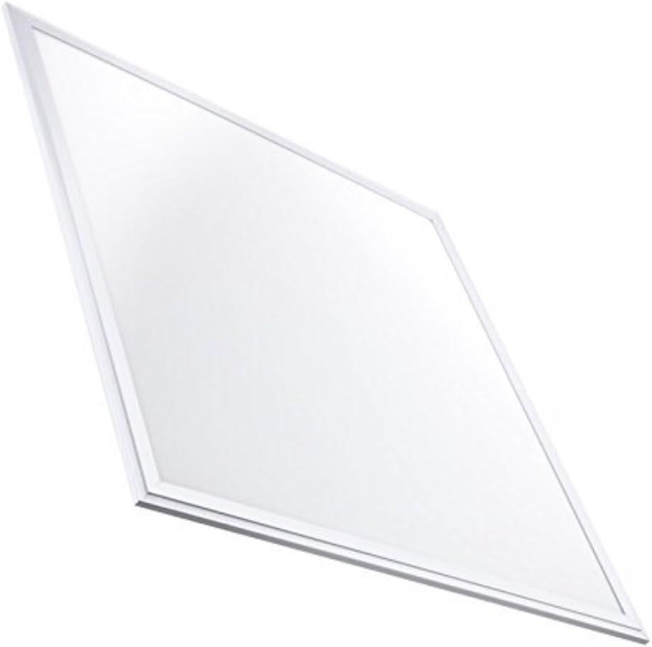 Panel LED 60x60 cm, 40W. Color Blanco Frío (6500K). 3200 Lumenes. Idóneo Techo Modular. A++