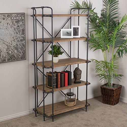 Christopher Knight Home 295968 Yorktown 5-Shelf Bookcase Antique ()