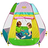 Large Children Pop-Up Teepee Playhouse Play Tent Review and Comparison