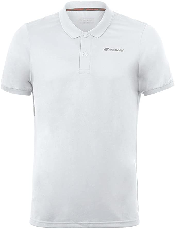 Babolat Polo Club Core Hombre Tenis Ropa Color Blanco: Amazon.es ...