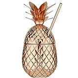 The Royal Hawaiian Pineapple Tumbler ~ Copper 27 Ounce
