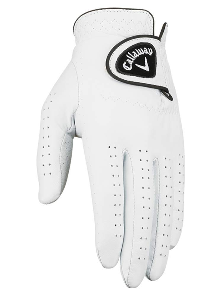 Callaway Men's Dawn Patrol Golf Glove (Women's Large 6 Pack-Master Carton, Worn on Left Hand)