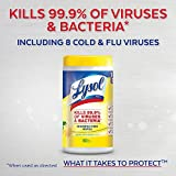 Lysol Disinfecting Wipes, Lemon & Lime Blossom, 330ct (3X110ct)