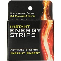 Energy Strips -Extra Strength Vitamin B 12 Support to Help Boost Energy Naturaly & Metabolism, Brain Boosting & Heart Function 5000 MCG Supplement with Methylcobalamin (Vitamin B12)-Dissolvable Strips