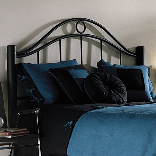 Fashion Bed Group Linden Queen Headboard (Matte White Queen Complete Bed)