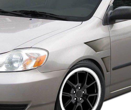 Concept Gt Fenders Duraflex (Duraflex ED-TFM-764 GT Concept Fenders - 2 Piece Body Kit - Fits Toyota Corolla 2003-2008)