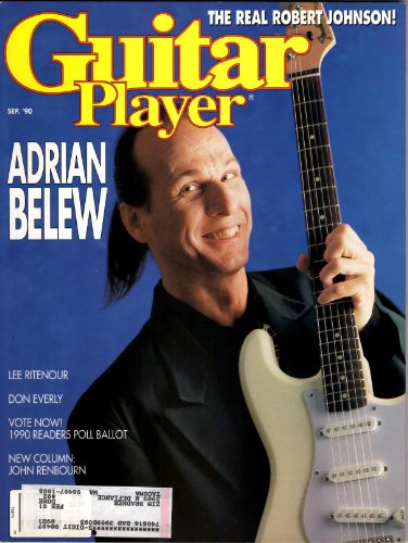 - Guitar Player Magazine... September, 1990....Adrian Belew