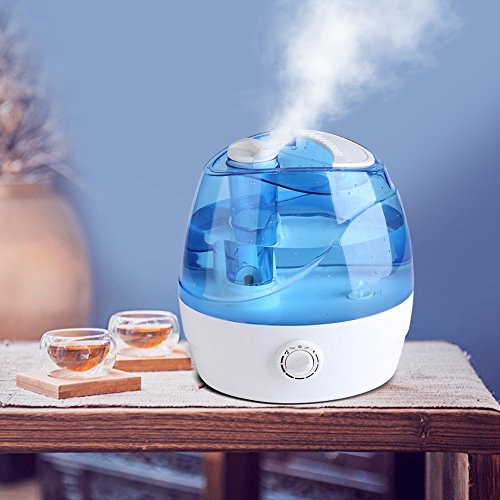 Cool Mist Humidifier, 2.2L Adjustable Air Humidifier Mist Maker Automatic Shut-off Premium Humidifying Unit for Yoga Spa Home Office Babies, Quiet Operation by Estink (Image #1)