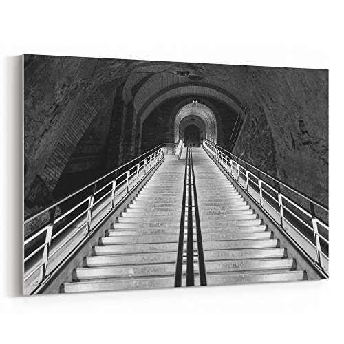 Wine Pier Center (Westlake Art Vcp Reim - 5x7 Canvas Print Wall Art - Canvas Stretched Gallery Wrap Modern Picture Photography Artwork - Ready to Hang 5x7 Inch)