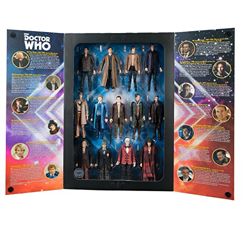 [Doctor Who: 5.5 inch 13 Doctor Action Figure Set] (Peter Capaldi Twelfth Doctor Costume)