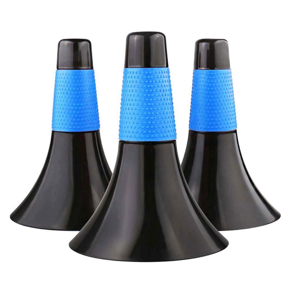 Pack of 3pcs Marker Cones Barrier Sports Fitness Football Basketball Speed Agility Grab Training