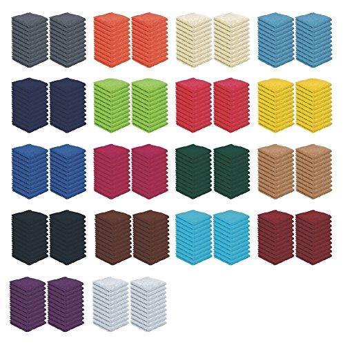 Set da 10/20 lavette, 30 x 30 cm, colori assortiti, 100%  cotone, Marine, 20er Pack Bettenpoint
