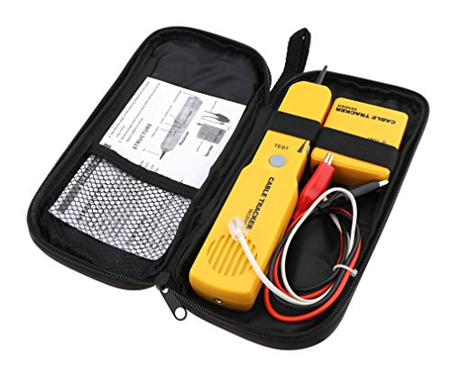 Cable Finder Tone Generator Probe Tracer Wire Tracker Network Tester kit ()