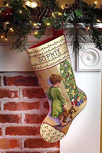 - Janlynn Counted Cross Stitch Kit Christmas Morning Stocking Cross Stitch