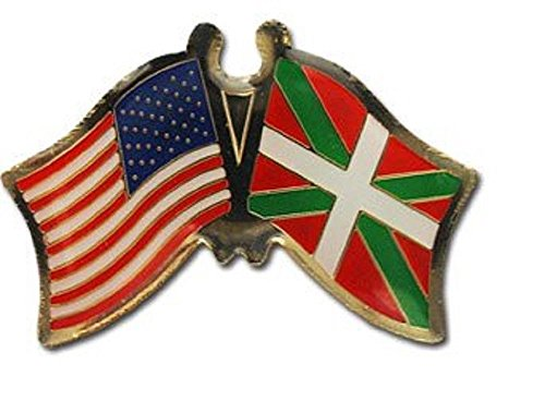 Rescue Bravo Knife (ALBATROS Pack of 50 USA American Basque Flag Lapel Pin for Bike Hat and Cap for Home and Parades, Official Party, All Weather Indoors Outdoors)