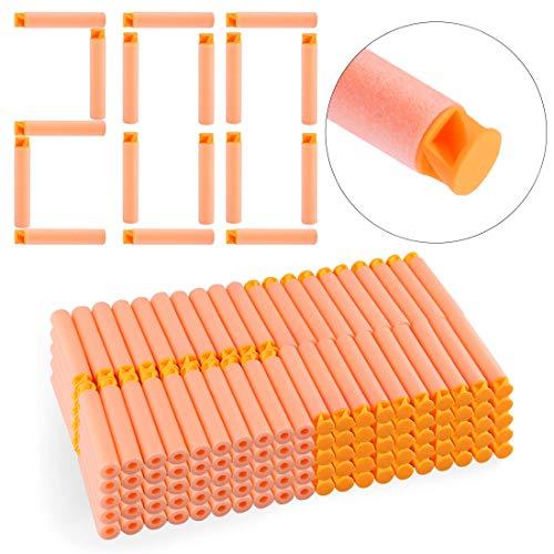 FidgetFidget 200 Dart Refill Pack for Nerf N-Strike Elite for Accustrike Series Replacement New Orange from FidgetFidget