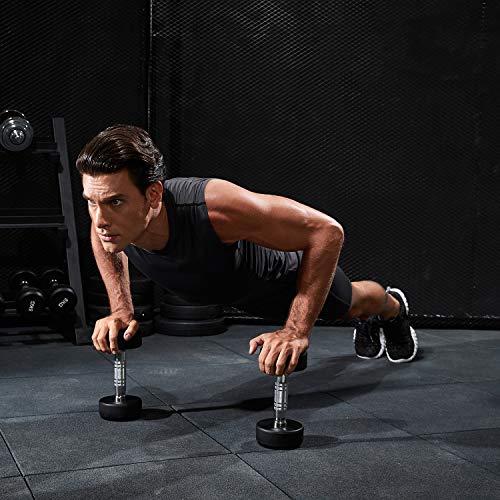 HOFISH Men's Outdoor Sports Active Compression Shorts, Black Gray Blue, US M/Waist 32-35