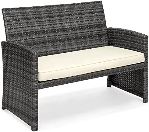 patio, lawn, garden, patio furniture, accessories, patio furniture sets,  dining sets 5 image Best Choice Products 4-Piece Wicker Patio Furniture in USA