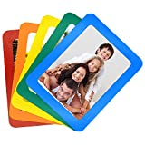 5x7 Inches Magnetic Photo Frame by TOPINSTOCK Set of 5 Colorful Fridge Magnets Creative Family Picture Frames