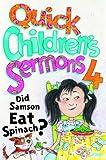 Quick Children's Sermons, Group Publishing, 0764424599