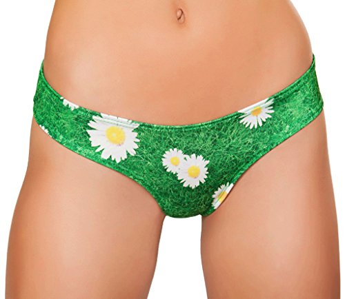 Musotica Low Rider Shorts - Grass - One Size Fits (Rider Low Rise Shorts)