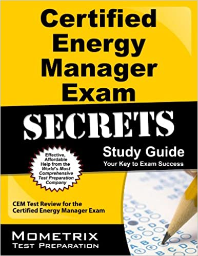 Certified Energy Manager Exam Secrets Study Guide: CEM Test