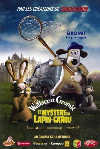 Wallace & Gromit: The Curse of the Were-Rabbit POSTER Movie