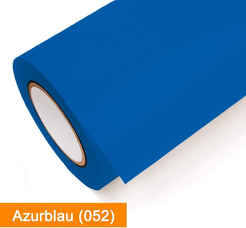 Klebefolie Oracal 631-052 Azurblau matt Klebefolie g/ünstig in 1A Qualit/ät von SalierShop Ma/ße 63cm x 1m