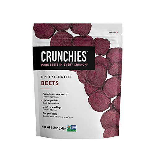 Crunchies Natural Food Company Freeze-Dried Beets, 1.2 oz.