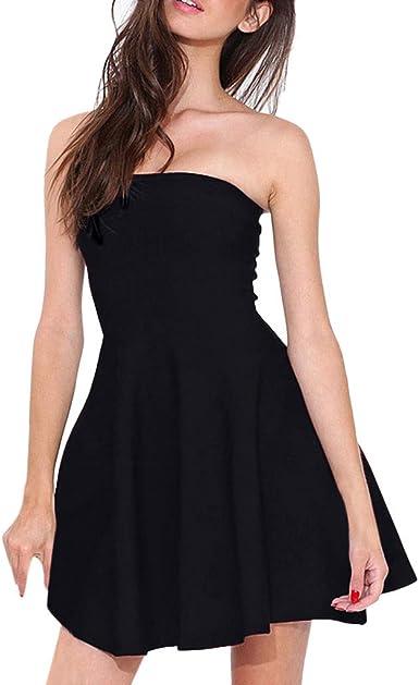 Womens Ladies Round Neck Cap Sleeve Skater Swing Dress Pleated Flared Mini Dress