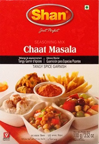 Shan Seasoning Mix For Chaat Masala - Pack of 6 (3.52 Oz. Ea.) by Shan Seasoning Mix For Chaat Masala - Pack of 6 (3.52 Oz. Ea.) ...