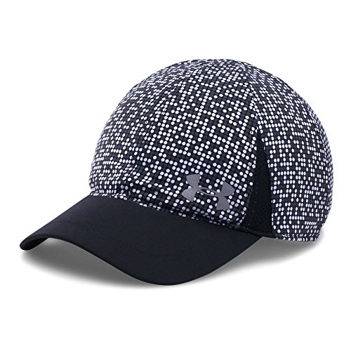 Under Armour Girls' Shadow Cap, Black (001)/Silver, One Size ()