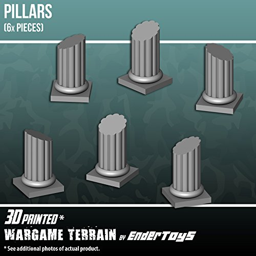 EnderToys Pillars, Terrain Scenery for Tabletop 28mm - Import It All