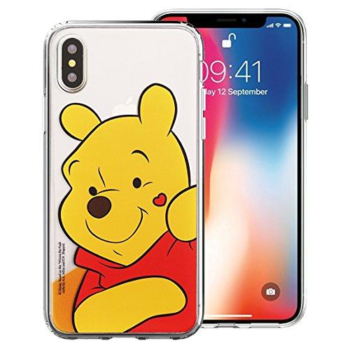 パウダーインカ帝国レプリカiPhone XR ケース Disney Pooh ディズニー プー かわいい ソフト TPU クリア カバー/スリム 軽量 傷防止 ピッタリフィット 【 アイフォン XR ケース (6.1