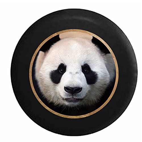 Full Color Cute Panda Staring Back At You Jeep Rv Camper