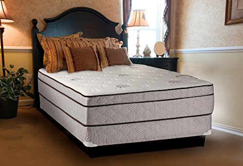 Set Split Spring Box - Continental Sleep Fifth Ave Collection, Fully Assembled  Mattress Set With 13