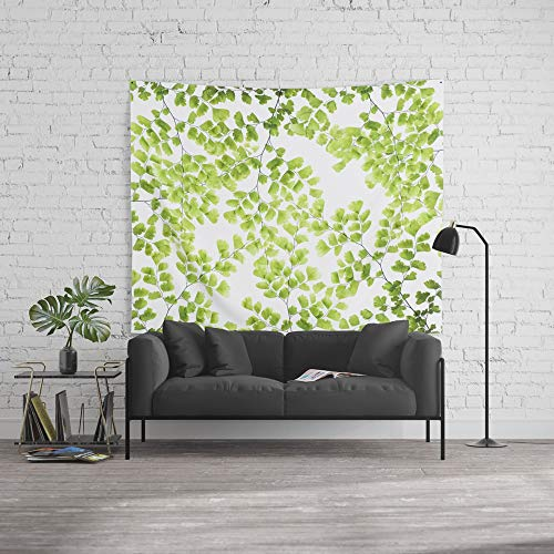 Ginko Leaf Wall - Society6 Wall Tapestry, Size Large: 88