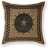 Customized Standard Pillowcase Primitives Primitive Country Folk Throw Pillow 18 X 18 Square Pillowcase Throw Pillow Cover Cushion