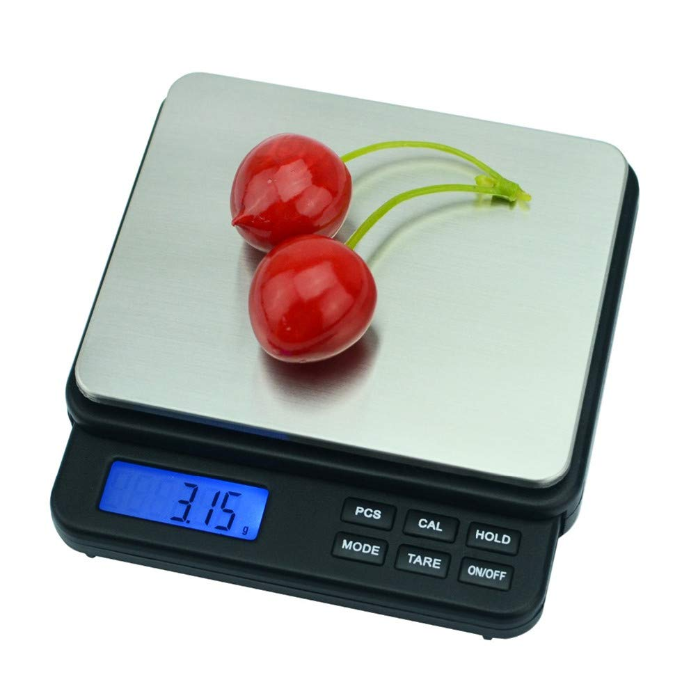 1000G/0.01 G Precisión Electrónica Balanza Digital Cocina Balanza 0,01 Joyería Peso Escala Medida Herramientas Gramos Oro Moneda LCD: Amazon.es: Salud y ...