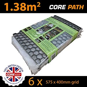 8 X Core Drive 50 30 White 1200mm X 800mm Gravel Stabiliser Grid