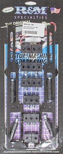 R/&M Specialties R/&M 1105-90K Black Vertical Style Spark Plug Wire Loom