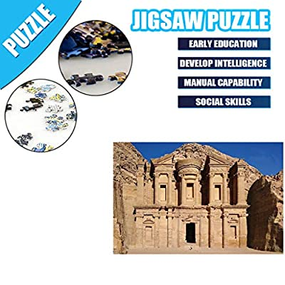 Allywit Puzzles for Adults 1000 Piece Jigsaw Puzzles for Adults Large Scenery Jigsaw Puzzles Floor Puzzle Kids DIY Toys for Home Decor 3D Puzzles Brain Teaser Puzzles Board Game Family (B): Office Products