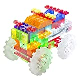 The Lakeside Collection 6 in 1 Laser Pegs Construction Monster Truck