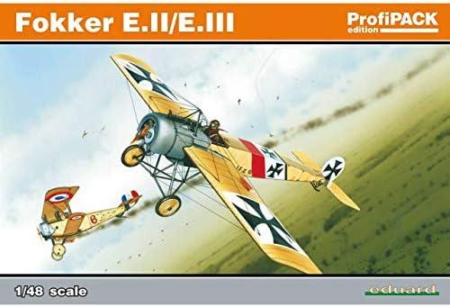 エデュアルド 1/48 プロフィパック フォッカー E.III プラモデル
