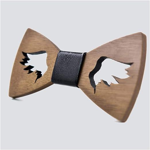 Neckchiefs Corbata de Lazo de Madera para Hombres Corbata de ...