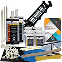Concrete Foundation Crack Repair Kit - Low Viscosity Polyurethane - FLEXKIT-1050-20