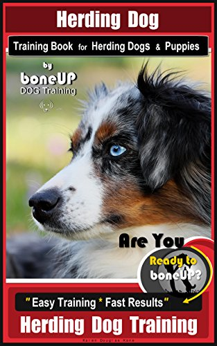 Herding Dog Training Book for Herding Dogs & Puppies By BoneUP DOG Training: Are You Ready to Bone Up? Easy Training * Fast Results Herding Dog ()