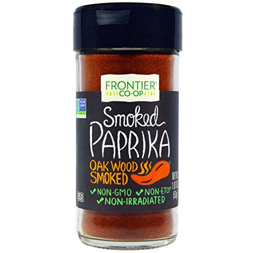 Frontier Natural Products, Smoked Paprika, Oak Wood Smoked, 1.87 oz (53 g) Frontier Natural Products, Smoked Paprika, Oak Wood Smoked, 1.87 oz (53 g) - 2pcs