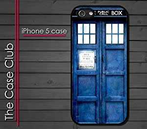 iPhone 6 plus (5.5) (New Color Model) Rubber Silicone Case - Dr Who Tardis Phone Booth Police Blue Call Box