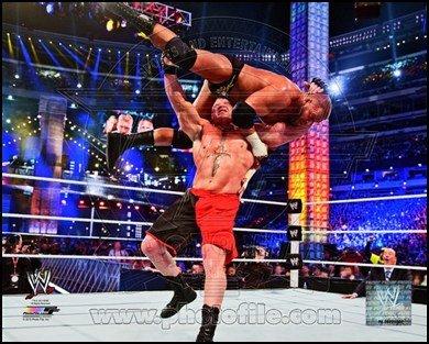 Brock Lesnar Wrestlemania 29 Action Art Poster Print Unknown